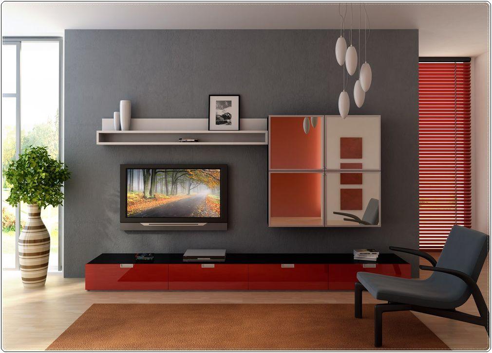 Décoration moderne, nature et so red