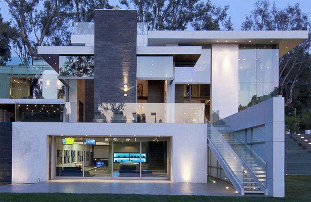 Design architectural de villa contemporaine