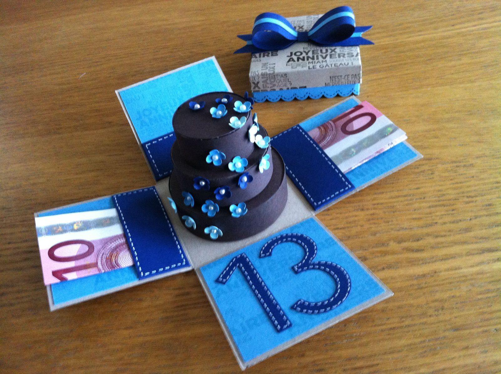Boîte cadeau anniversaire