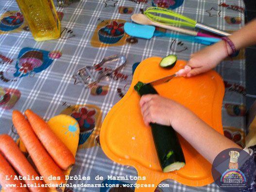 Atelier préparation du repas pour les grands-parents !