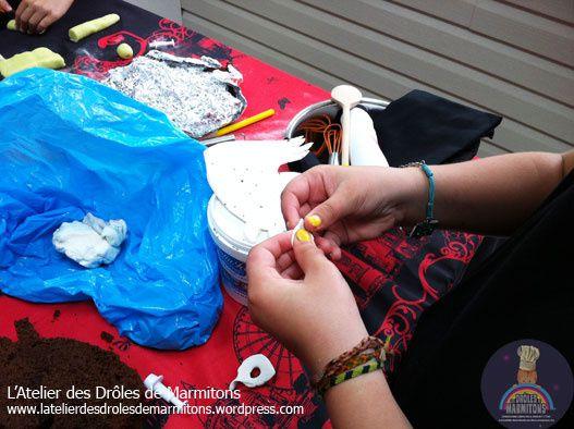 Atelier préparation du gâteau d'anniversaire : le cheval