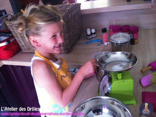 Atelier pâtisserie à domicile avec Mathéa, 6 ans !