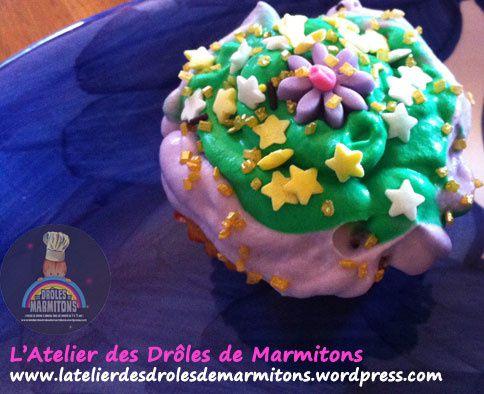 Atelier Cupcakes à domicile avec Rachel !