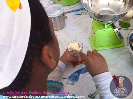 Atelier Verrines et tiramisu pour les enfants !