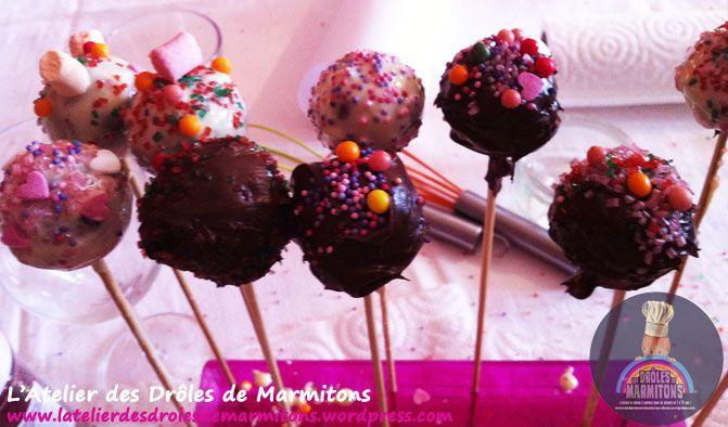 Atelier cake pops et Cup cake à domicile !