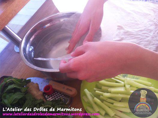 Préparation du repas pour les parents - 3ème partie