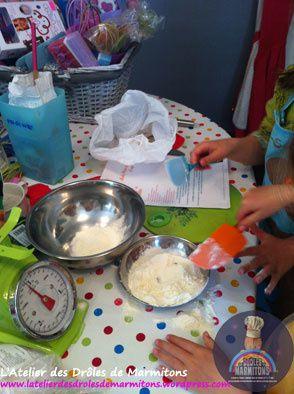 Préparation du repas pour les grands-parents !
