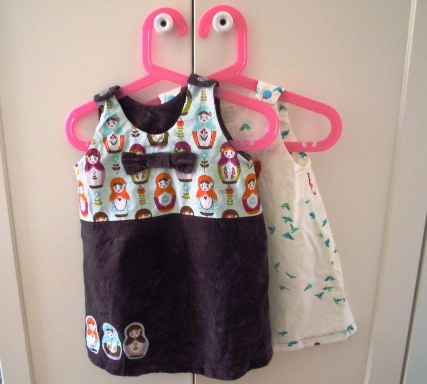 Des robes pour BB Lola!