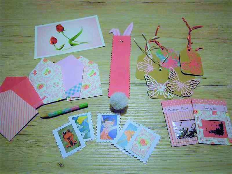 Happy mail de printemps