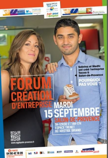 Forum cr ation d 39 entreprise 15 09 2015 salon de - Securite sociale salon de provence adresse ...