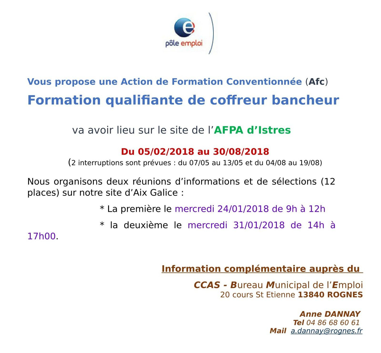 formation pole emploi 86