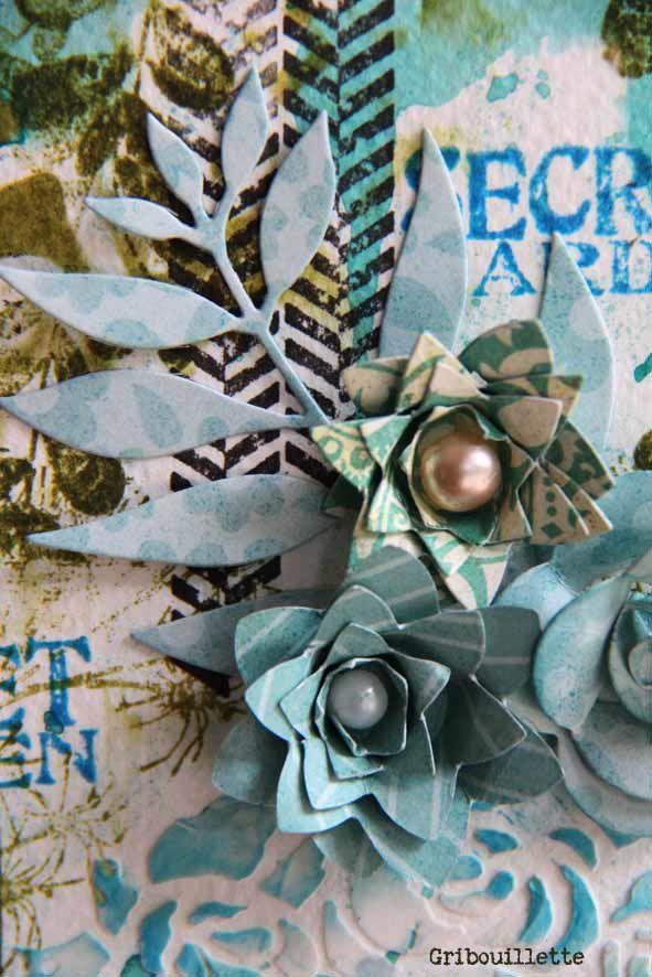 """Carte """"Secret Garden"""""""