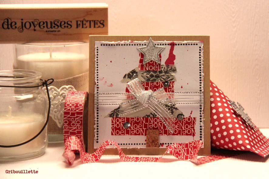Cartes &amp&#x3B; Masking Tape &quot&#x3B;Noël&quot&#x3B; Artémio_2