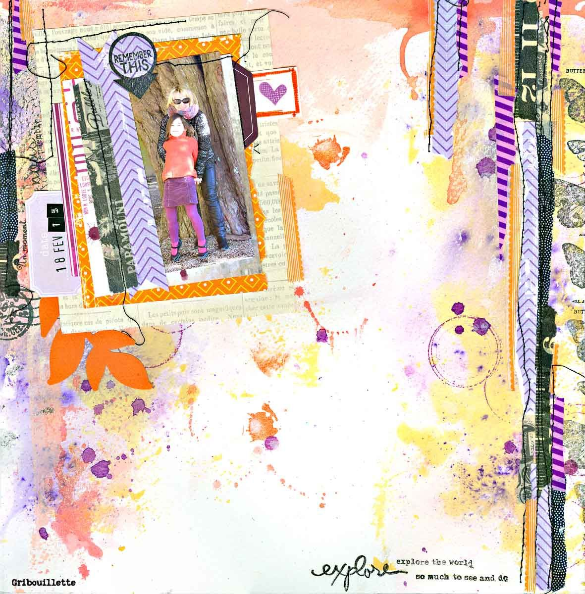 Explore the world_Invitée Créative Scrap&amp&#x3B;Co