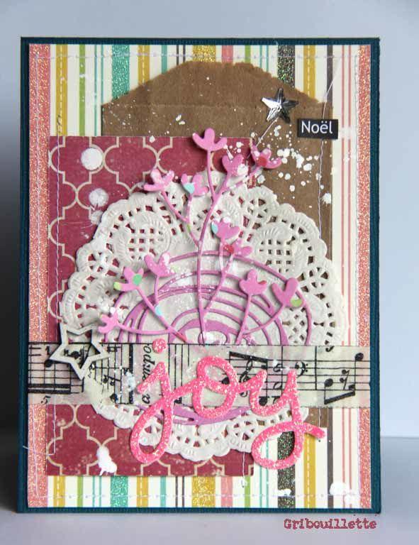 """Clic sur image pour agrandir/Carte """"Joy""""_Sketch blog Inspiration Création/"""