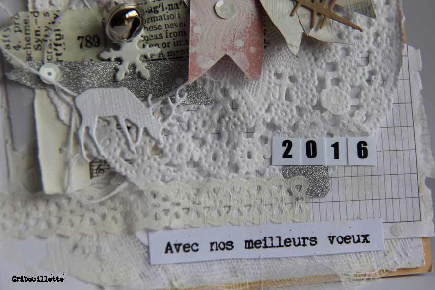 """Carte """"Joy""""_ Voeux 2016"""