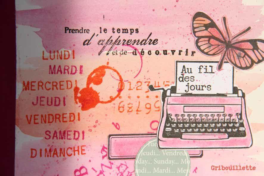 """Cahier customisé pour GYS et l'association """"Mots & Merveilles"""""""