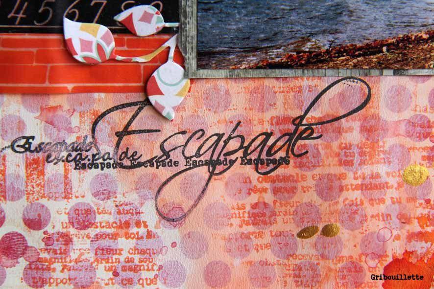 Page#Scrapbooking#Escapade