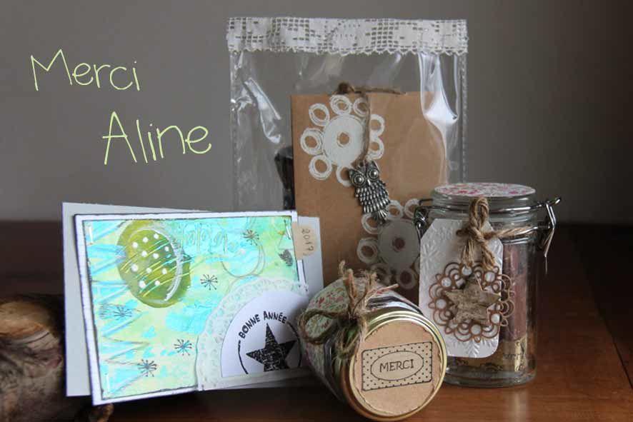 Colis de Noël offert par Aline