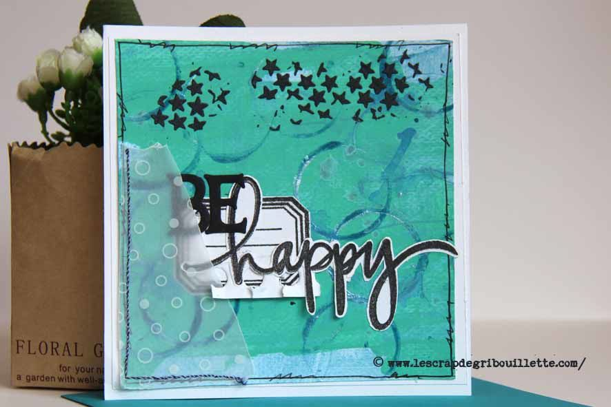 Cartes & Acryliques en superposition (2)