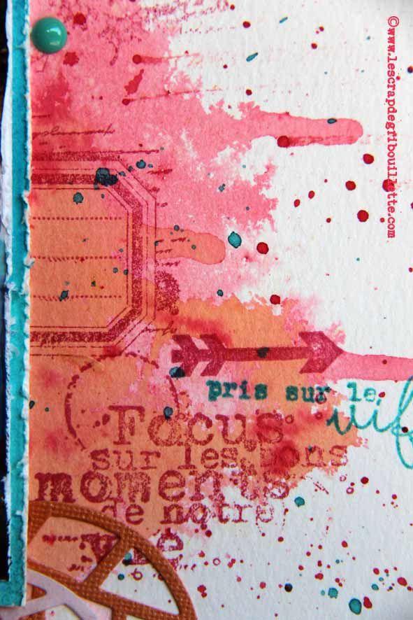 Challenege blog SKC#Sketch#Page de Scrap#Focus#Détails