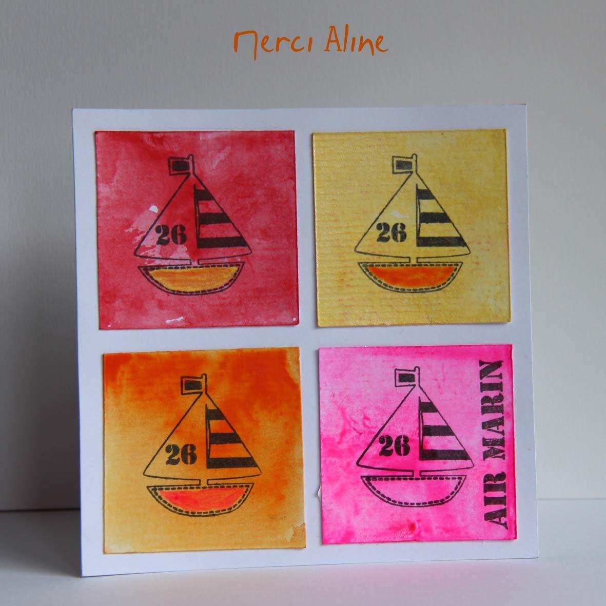 Carte d'Aline