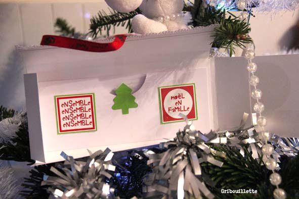 Pochettes cadeau pour Noël