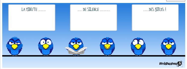 Désolée les birds ! Je suis avec vous !!!