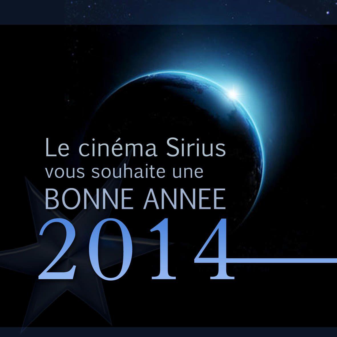 Programme cinéma Sirius du 1 au 7 Janvier 2014