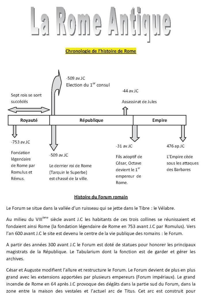 Voyage 3ème (2013-2014)