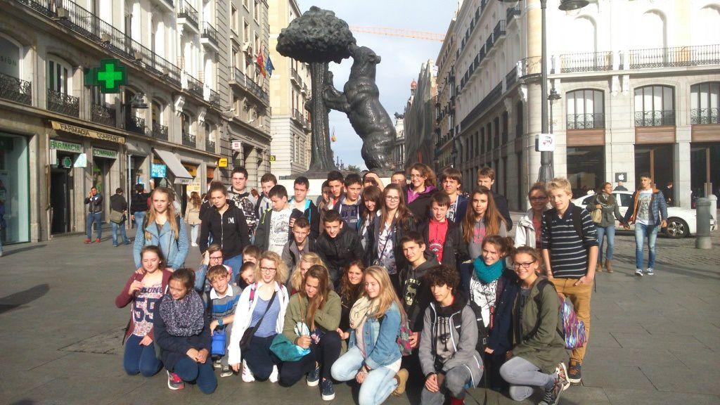 groupe à Madrid