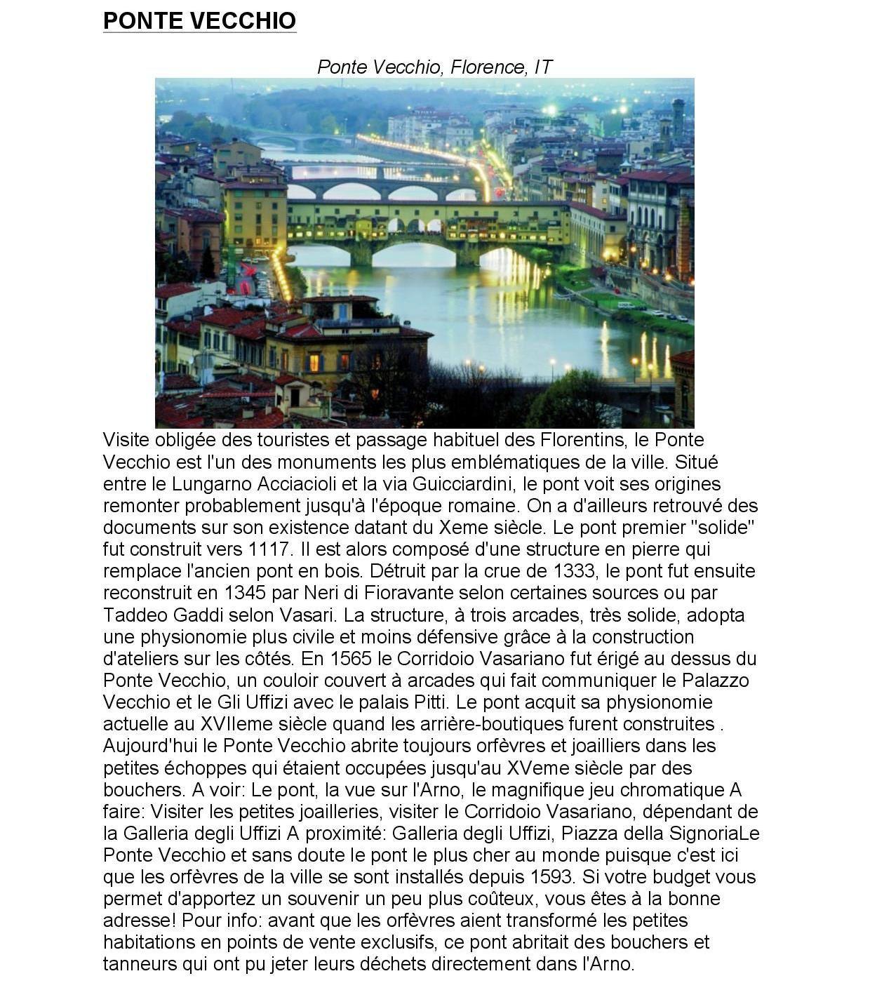 3èmes en Italie - octobre 2015