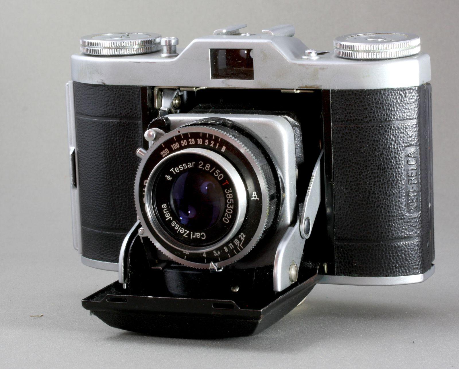 Beltica 2 de 1955. Vebur-Tessar 2,8