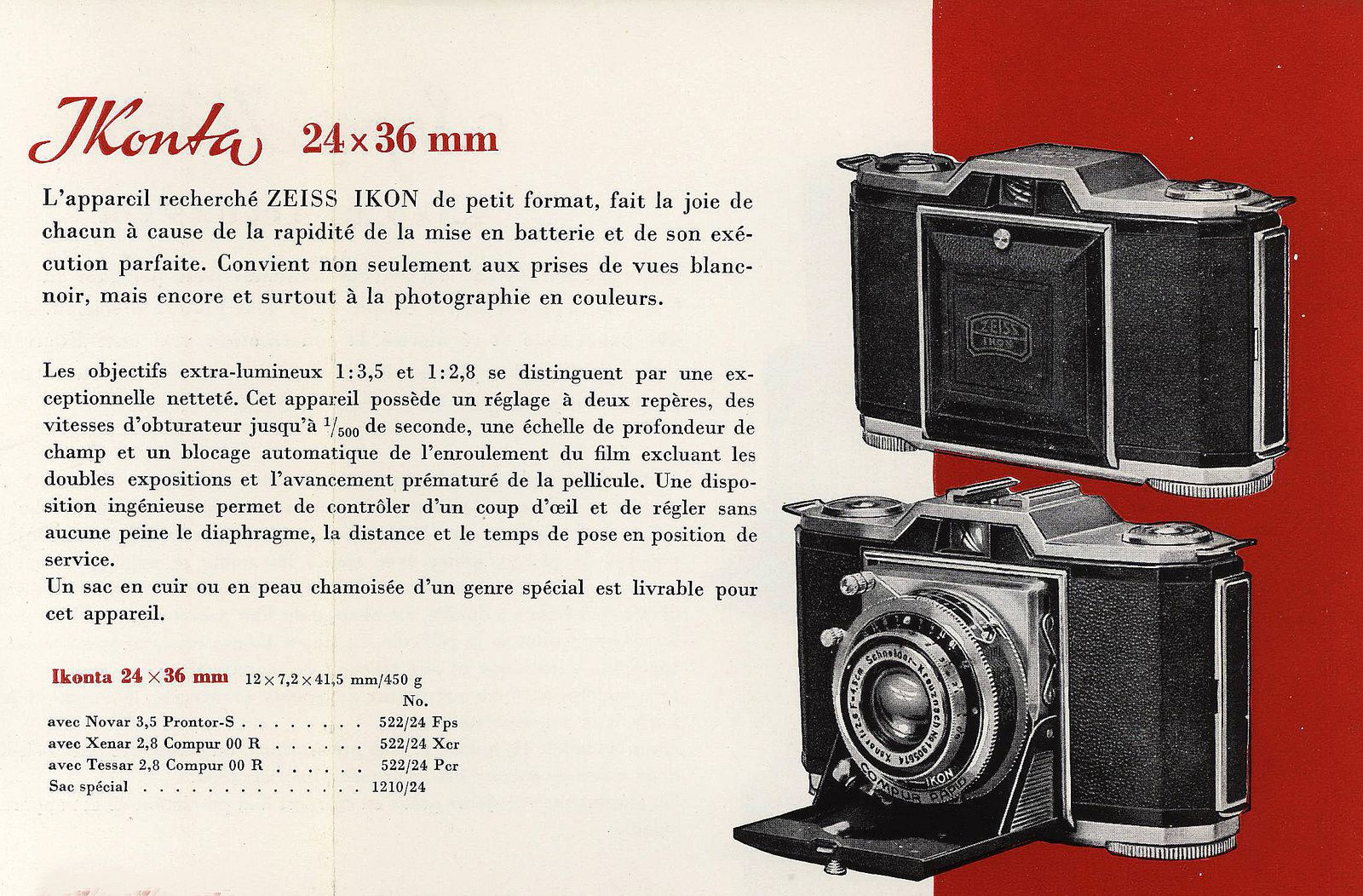 Extrait du catalogue 12/1949