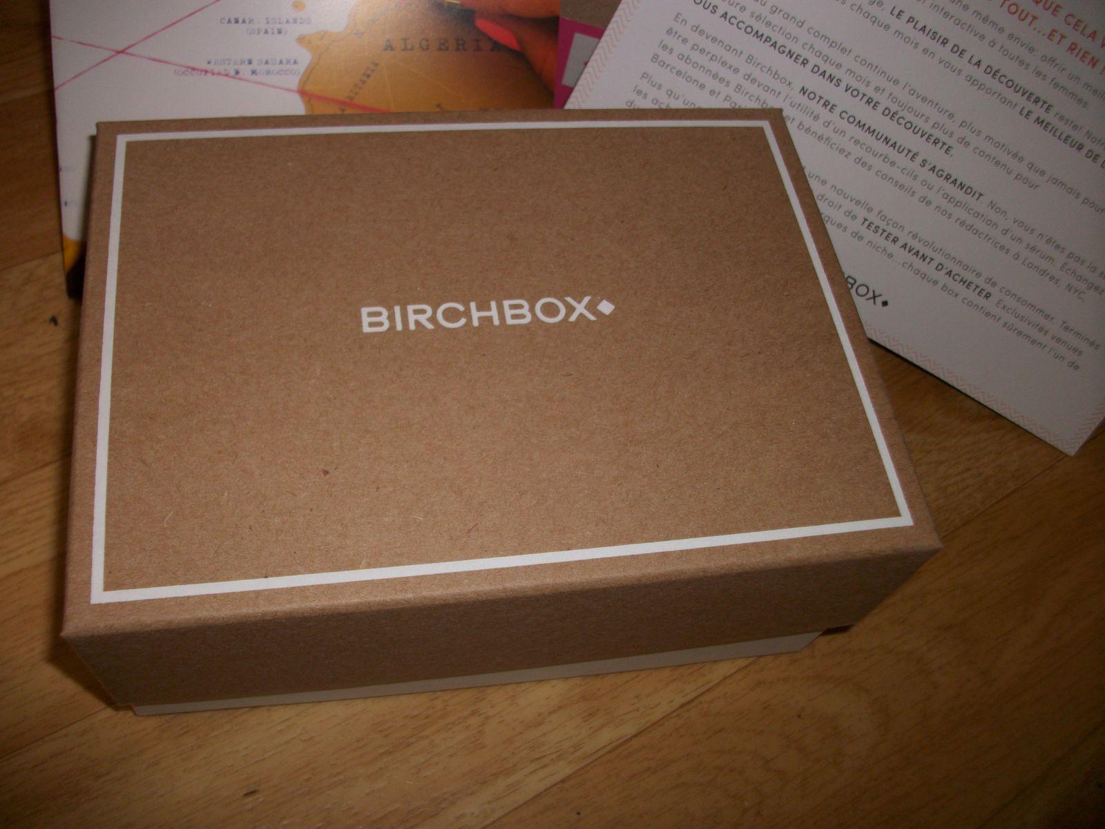 ma première Birchbox... Destination Canon!