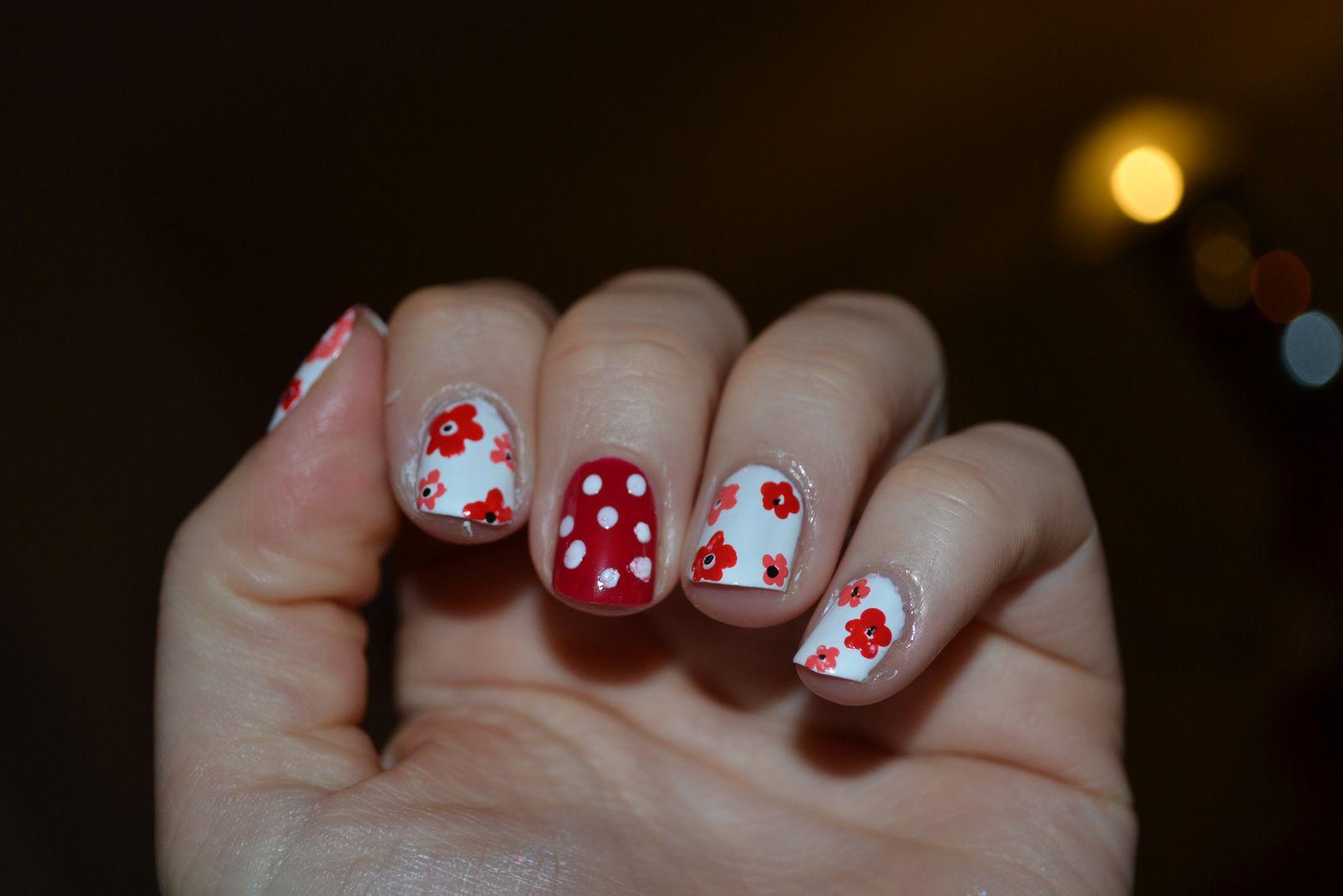 Nail art... couleurs de printemps!