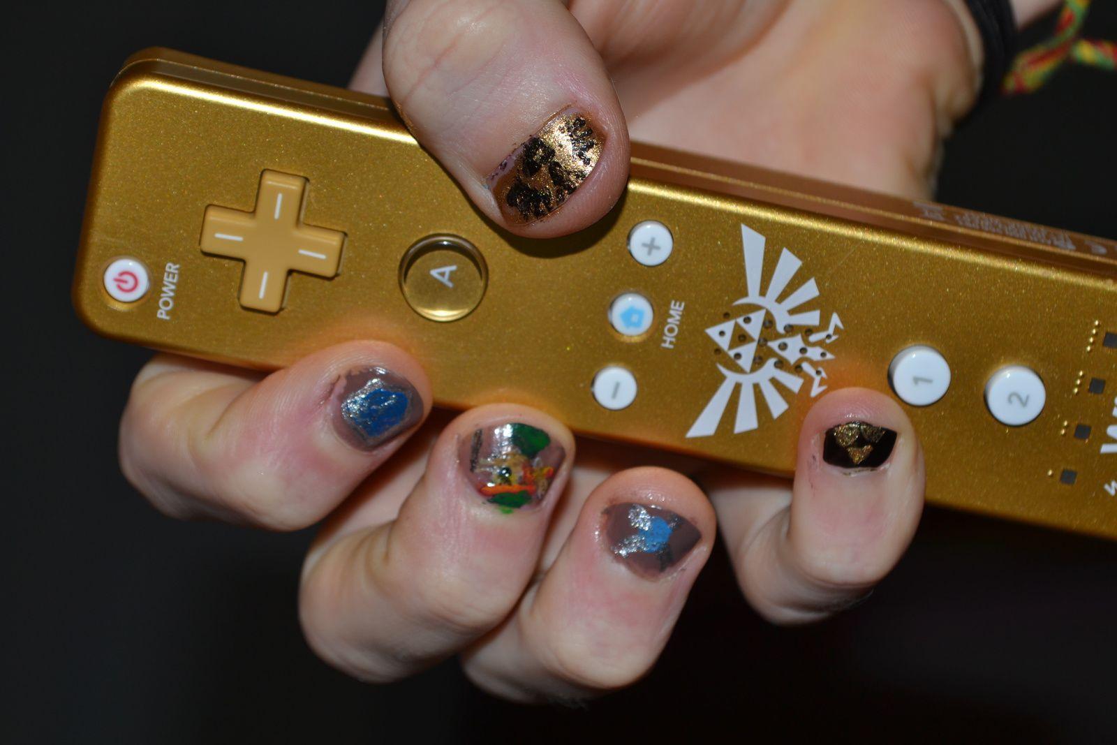 Nailstorming: jeux vidéos... Zelda