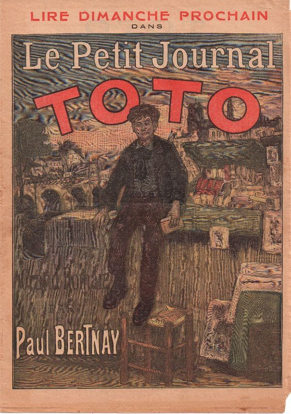 "Paul Bertnay ""Toto"" in Le Petit Journal (1912)"