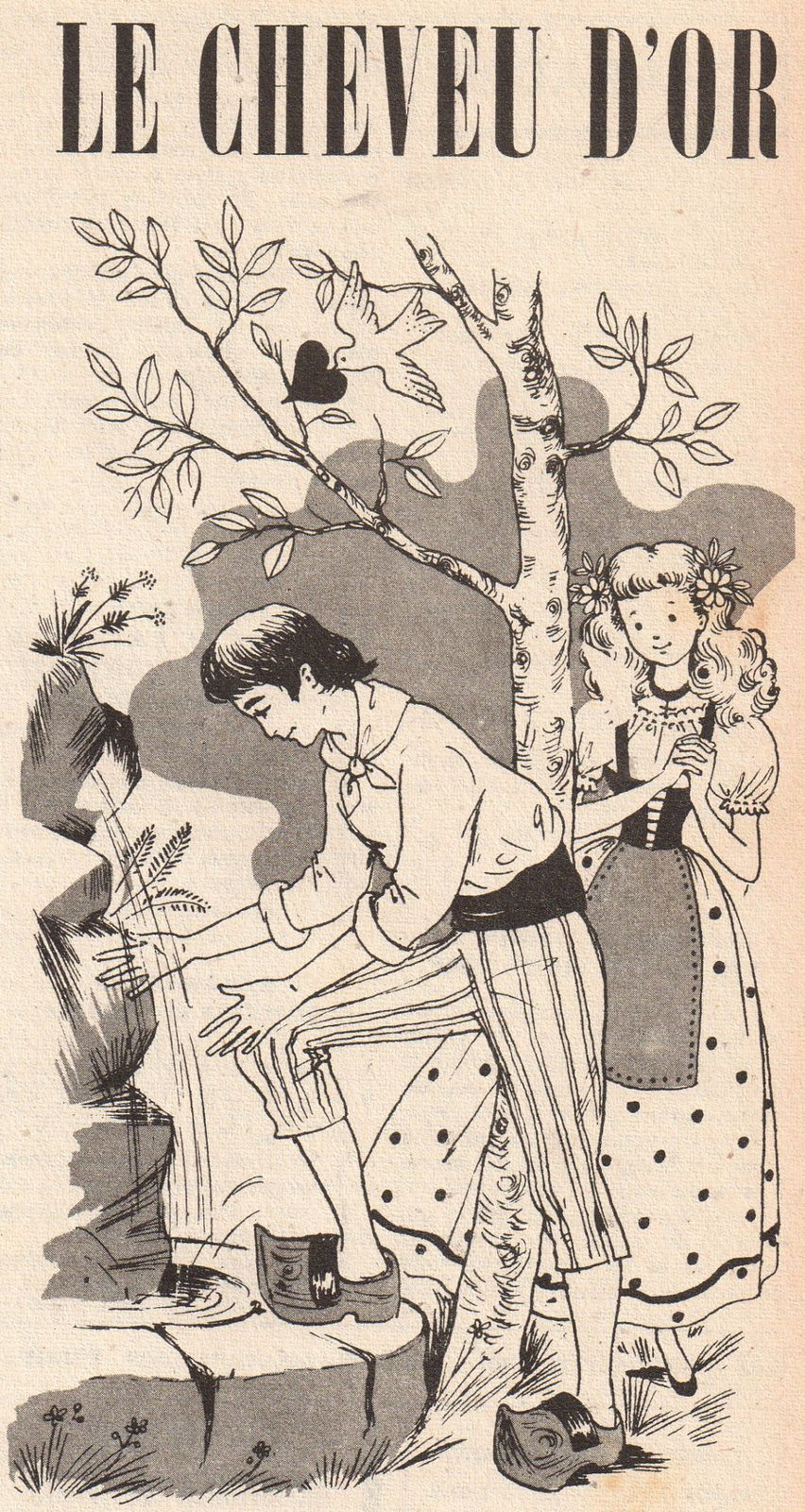 """Andrée Dubois-Millot """"Le Cheveu d'Or"""" (1956)"""
