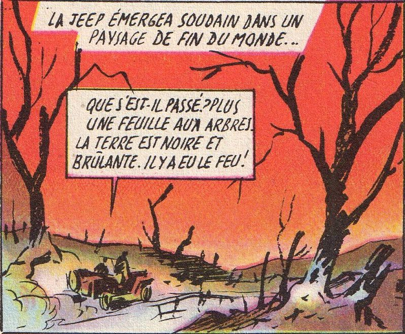 "Henriette Robitaillie ""L'Invisible Ennemi"", illustré en couleurs par Alain Orange (6/6)"