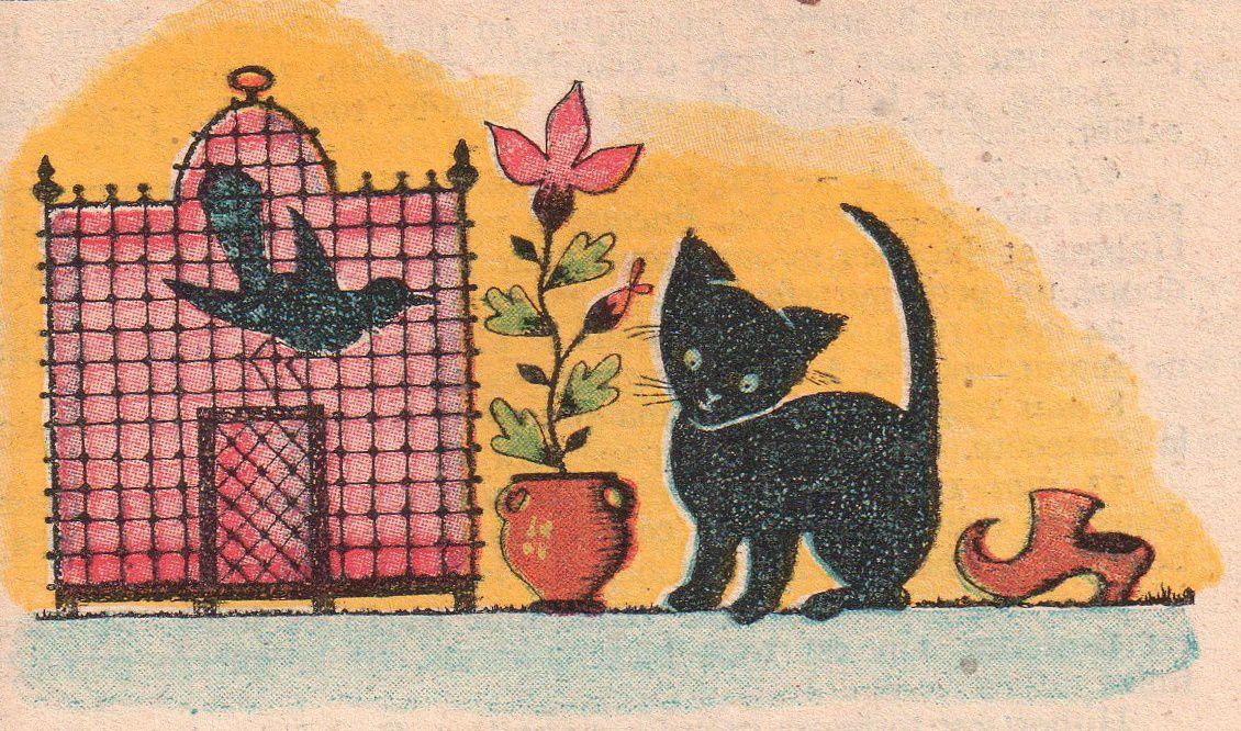 """Henri Elsie """"Mirabelle, la petite sorcière"""", illustré par Elsie Millon (1953)"""
