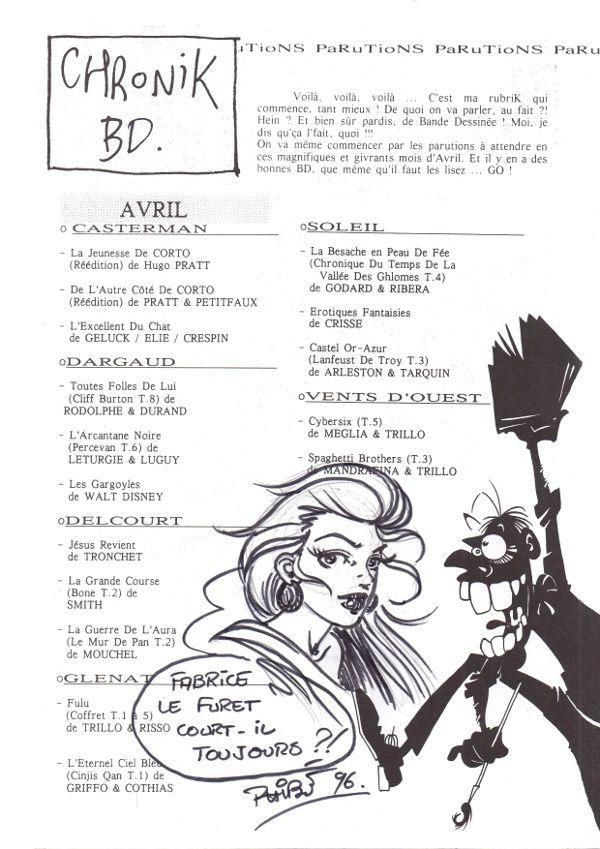 La Bande n°01 : Brice Tarvel et Mohamed Aouamri (1996)