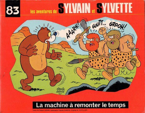 Sylvain et Sylvette n°83 - La machine à remonter le temps (Fleurus - 1976)