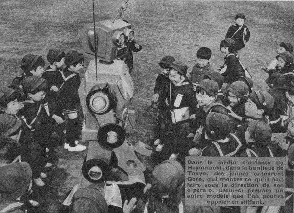 """Anonyme """"Une gouvernante électronique"""" in Le Journal de Mickey n°668 du 14 mars 1965."""