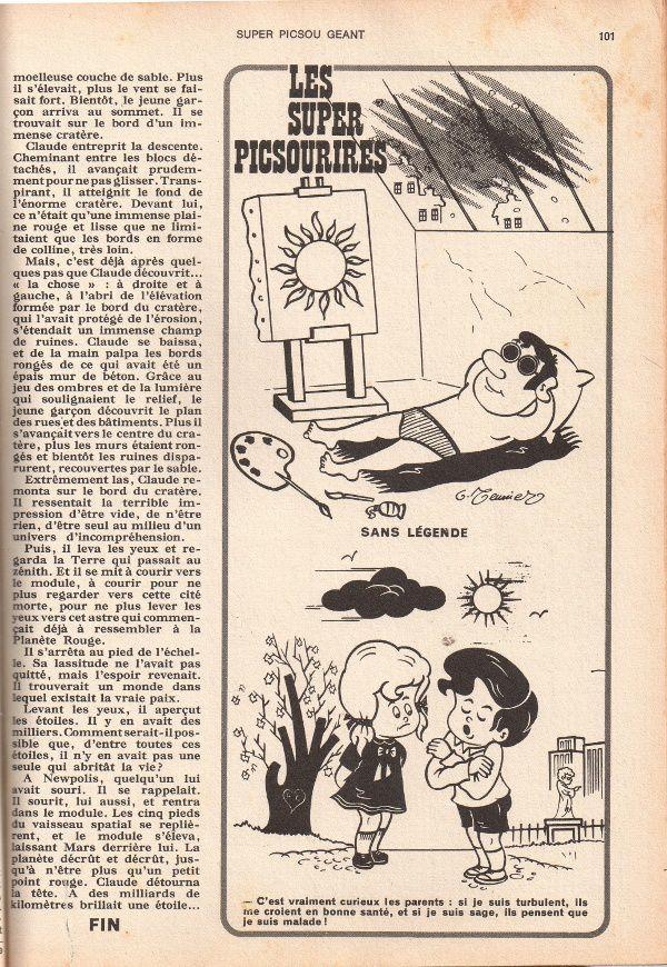 Pierre-André Kaiser - Aller simple pour la lune in Super Picsou Géant, supplément à Picsou magazine numéro spécial hors série n°77 bis (juillet 1978)