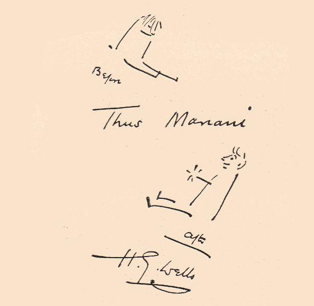Notice et biographie de H.-G. Wells par Joseph Uzanne dans l'Album Mariani T. XII (1910)