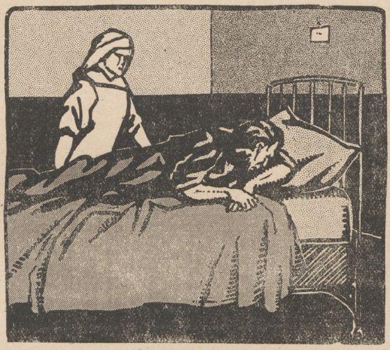 Lucien Deslinières & J. Marc-Py - La Résurrection du Dr Valbel, illustrations de Jean Clar in Floréal n°33 du 13/08/1921