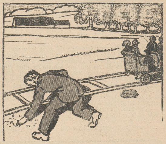 Lucien Deslinières & J. Marc-Py - La Résurrection du Dr Valbel, illustrations de Jean Clar in Floréal n°11 du 12/03/1921