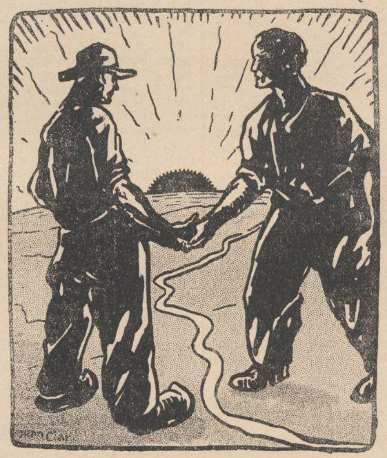 Lucien Deslinières & J. Marc-Py - La Résurrection du Dr Valbel, illustrations de Jean Clar in Floréal n°24 du 11/06/1921