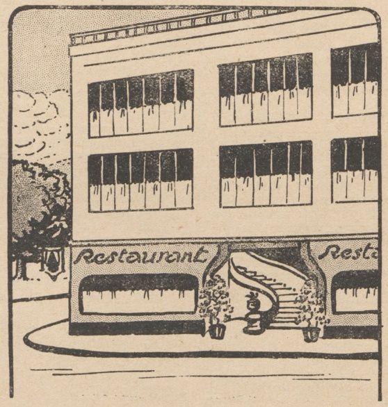 Lucien Deslinières & J. Marc-Py - La Résurrection du Dr Valbel, illustrations de Jean Clar in Floréal n°29 du 16/07/1921